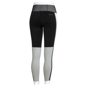Thumbnail 6 of PUMA x SELENA GOMEZ Damen 7/8 Training Leggings, Puma Black-White-High Rise, medium