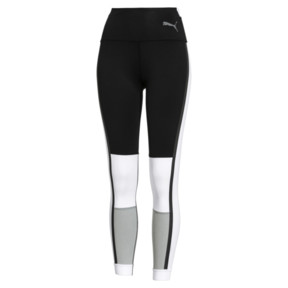 Thumbnail 5 of PUMA x SELENA GOMEZ Damen 7/8 Training Leggings, Puma Black-White-High Rise, medium