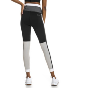 Thumbnail 2 of PUMA x SELENA GOMEZ Damen 7/8 Training Leggings, Puma Black-White-High Rise, medium