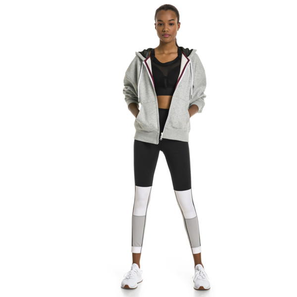 PUMA x SELENA GOMEZ Damen 7/8 Training Leggings, Puma Black-White-High Rise, large