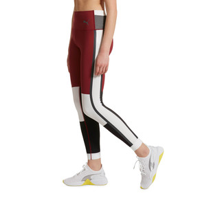 Thumbnail 2 of SG x PUMA 7/8 Leggings, Cordovan-White-Black, medium