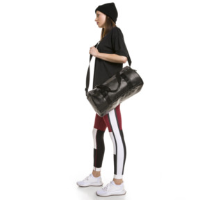 Thumbnail 5 of PUMA x SELENA GOMEZ Women's 7/8 Training Leggings, Cordovan-White-Black, medium