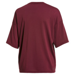 Thumbnail 4 of PUMA x SELENA GOMEZ Women's Training Tee, Cordovan, medium