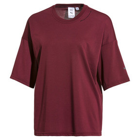 Thumbnail 1 of PUMA x SELENA GOMEZ Women's Training Tee, Cordovan, medium