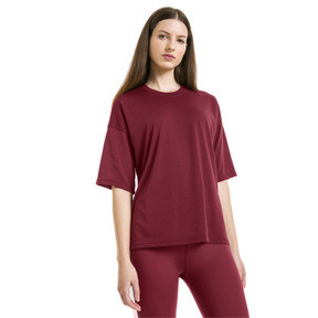 Thumbnail 2 of PUMA x SELENA GOMEZ Women's Training Tee, Cordovan, medium