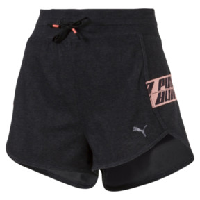 Thumbnail 1 of Feel it Short, Puma Black Heather, medium