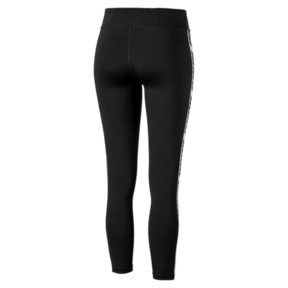 Thumbnail 5 of Feel It Women's 7/8 Leggings, Puma Black-with White tape, medium