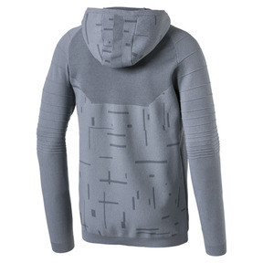 Thumbnail 6 of Energy evoKNIT Herren Training Kapuzenjacke, medium gray heather, medium