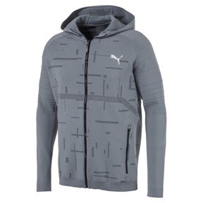 Thumbnail 5 of Energy evoKNIT Herren Training Kapuzenjacke, medium gray heather, medium