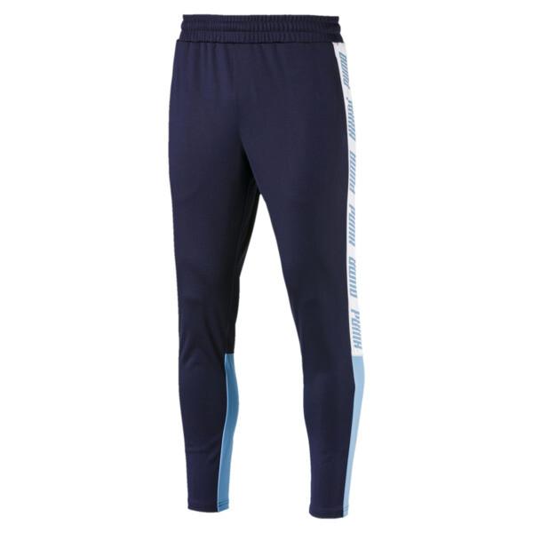 A.C.E. Men's Track Pants, Pcoat-Bonnie Blue-White, large