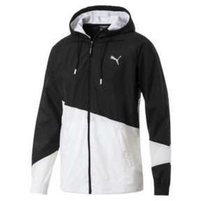 A.C.E Men's Full Zip Windbreaker