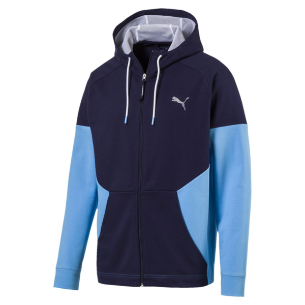 A.C.E. Sweat Jacket, Peacoat-Bonnie Blue, large