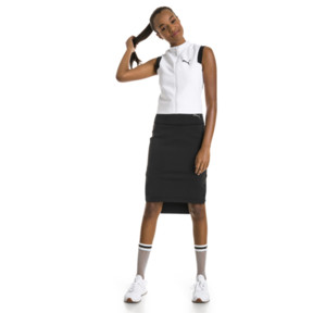 Thumbnail 5 of PUMA x SELENA GOMEZ Cropped Sleeveless Zip-Up Women's Training Top, Puma White, medium