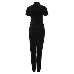 Thumbnail 5 of PUMA x SELENA GOMEZ Women's Training Jumpsuit, Puma Black, medium