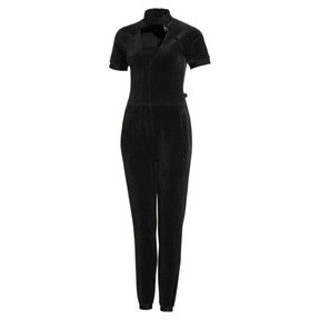 Thumbnail 4 of PUMA x SELENA GOMEZ Women's Training Jumpsuit, Puma Black, medium