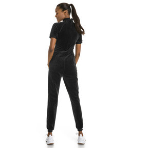 Thumbnail 2 of PUMA x SELENA GOMEZ Women's Training Jumpsuit, Puma Black, medium