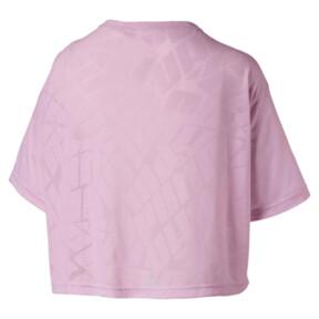 Thumbnail 4 of ショーオフ SS ウィメンズ Tシャツ, pale pink Heather, medium-JPN