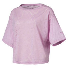 Thumbnail 1 of ショーオフ SS ウィメンズ Tシャツ, pale pink Heather, medium-JPN