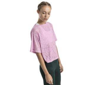 Thumbnail 2 of ショーオフ SS ウィメンズ Tシャツ, pale pink Heather, medium-JPN