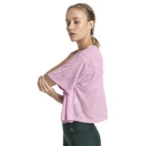 Thumbnail 3 of ショーオフ SS ウィメンズ Tシャツ, pale pink Heather, medium-JPN