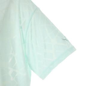 Thumbnail 7 of ショーオフ SS ウィメンズ Tシャツ, fair aqua Heather, medium-JPN