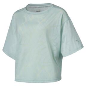 Thumbnail 1 of ショーオフ SS ウィメンズ Tシャツ, fair aqua Heather, medium-JPN