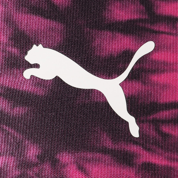 スタンド アウト ウィメンズ 3/4 タイツ, fuchsia purple-puma black, large-JPN