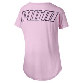 Thumbnail 2 of ボールド SS ウィメンズ Tシャツ (半袖), Pale Pink, medium-JPN
