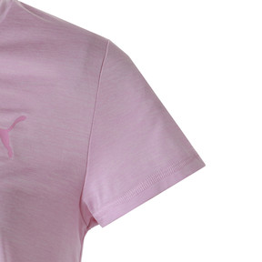 Thumbnail 7 of ターン イット アップ ウィメンズ SS Tシャツ (半袖), Pale Pink Heather, medium-JPN