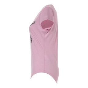 Thumbnail 6 of ヘザー キャット ウィメンズ SS Tシャツ (半袖), Pale Pink Heather, medium-JPN