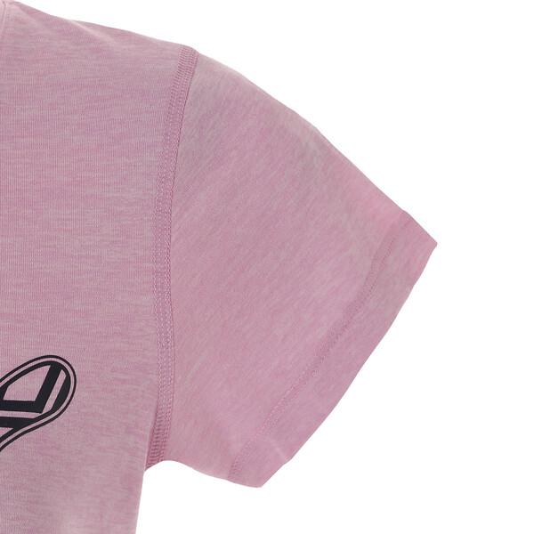 ヘザー キャット ウィメンズ SS Tシャツ (半袖), Pale Pink Heather, large-JPN