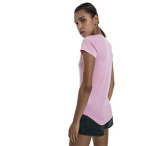 Thumbnail 3 of ヘザー キャット ウィメンズ SS Tシャツ (半袖), Pale Pink Heather, medium-JPN