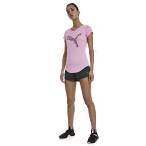 Thumbnail 5 of ヘザー キャット ウィメンズ SS Tシャツ (半袖), Pale Pink Heather, medium-JPN