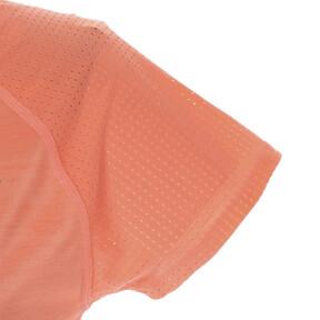Thumbnail 7 of DUAL THERMO-R ウィメンズ SS Tシャツ (半袖), Bright Peach Heather, medium-JPN