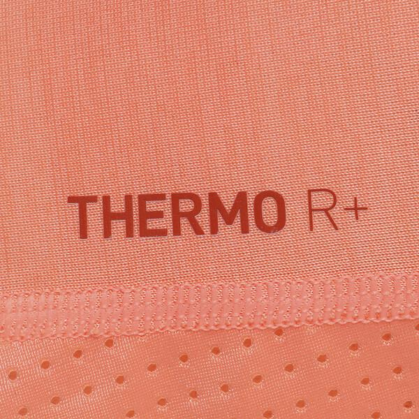 DUAL THERMO-R ウィメンズ SS Tシャツ (半袖), Bright Peach Heather, large-JPN