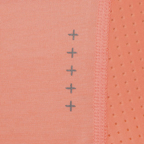 Thumbnail 10 of DUAL THERMO-R ウィメンズ SS Tシャツ (半袖), Bright Peach Heather, medium-JPN