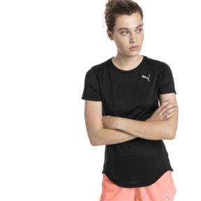 Thumbnail 2 of エピック ヘザー SS ウィメンズ Tシャツ, Puma Black Heather, medium-JPN