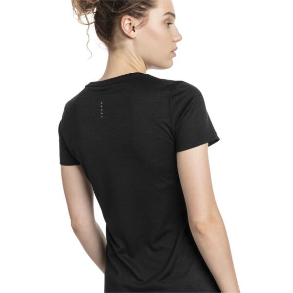 エピック ヘザー SS ウィメンズ Tシャツ, Puma Black Heather, large-JPN