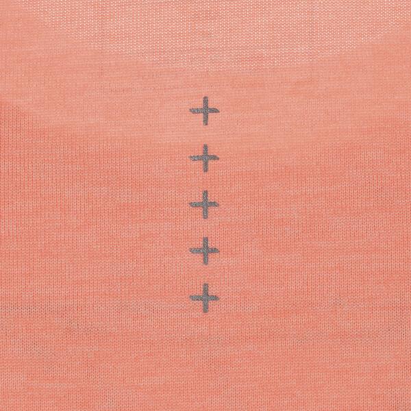 エピック ヘザー ウィメンズ SS Tシャツ 半袖, Bright Peach Heather, large-JPN
