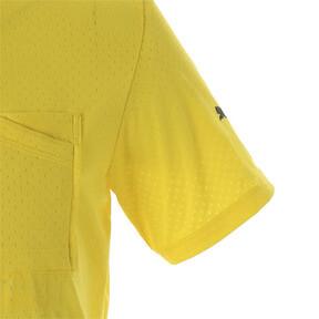 Thumbnail 7 of コーション SS グラフィック Tシャツ 半袖, Blazing Yellow, medium-JPN