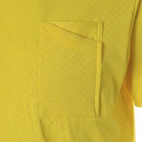 Thumbnail 9 of コーション SS グラフィック Tシャツ 半袖, Blazing Yellow, medium-JPN