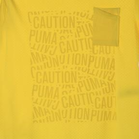 Thumbnail 12 of コーション SS グラフィック Tシャツ 半袖, Blazing Yellow, medium-JPN
