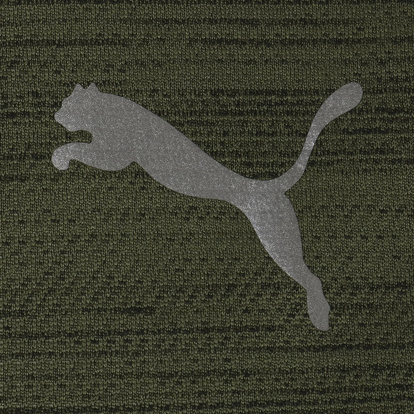 PUMA PACE ブリーズSS Tシャツ 半袖, Olivine-Puma Black, large-JPN