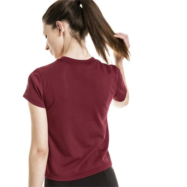 T-Shirt de forme étroite PUMA x SELENA GOMEZ pour femme, Cordovan, large