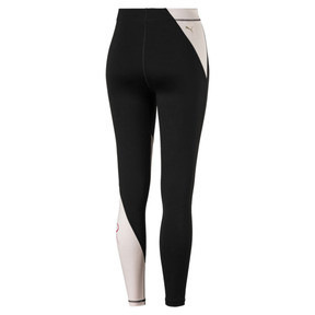 Thumbnail 3 of Sweet Women's 7/8 Leggings, Puma Black-Barely Pink, medium
