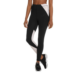Thumbnail 2 of Sweet Women's 7/8 Leggings, Puma Black-Barely Pink, medium
