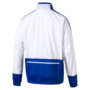 Thumbnail 2 of Retro Men's Woven Jacket, Puma White-Surf The Web, medium