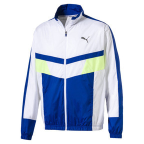 Retro Men's Woven Jacket