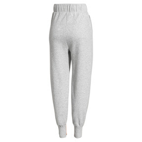 Thumbnail 5 of PUMA x SELENA GOMEZ Women's Sweatpants, Light Gray Heather, medium