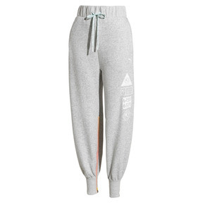 Thumbnail 4 of PUMA x SELENA GOMEZ Women's Sweatpants, Light Gray Heather, medium